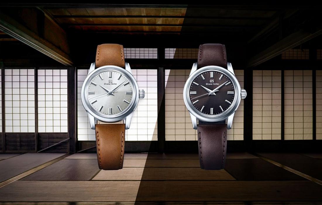 Grand Seiko, les deux nouveaux modèles de la Collection Elégance