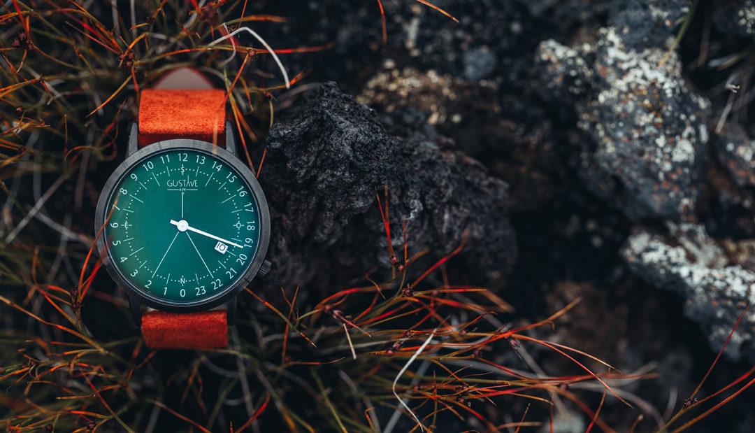 Gustave & Cie, les montres avec une nouvelle lecture du temps